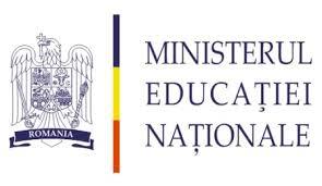 Ministerul Educatiei Nationale logo